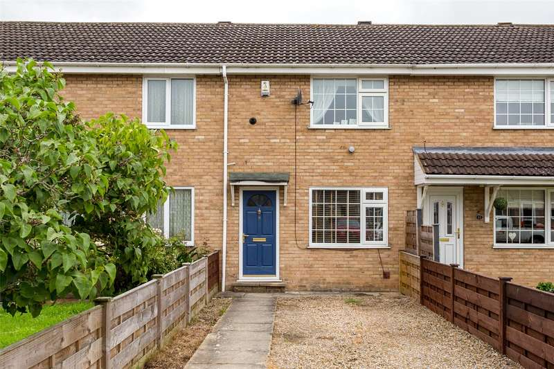 2 Bedrooms Terraced House for sale in Gateland Close, Haxby, York, YO32