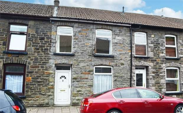3 Bedrooms Terraced House for sale in Wayne Street, Pontypridd, Mid Glamorgan