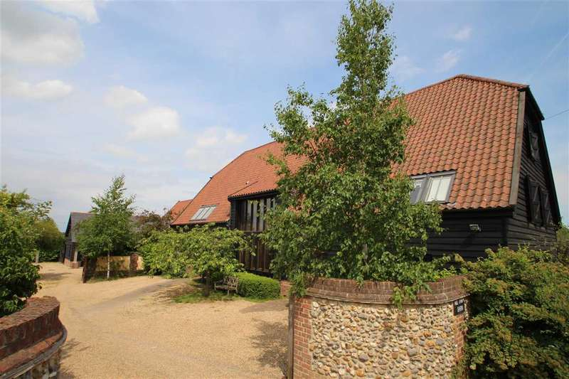 9 Bedrooms Detached House for sale in Hill Farm Barn, Lamberts Lane, Rushmere St. Andrew, Ipswich