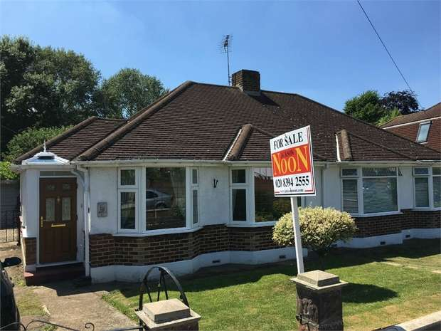 2 Bedrooms Semi Detached Bungalow for sale in Pams Way, Ewell Court