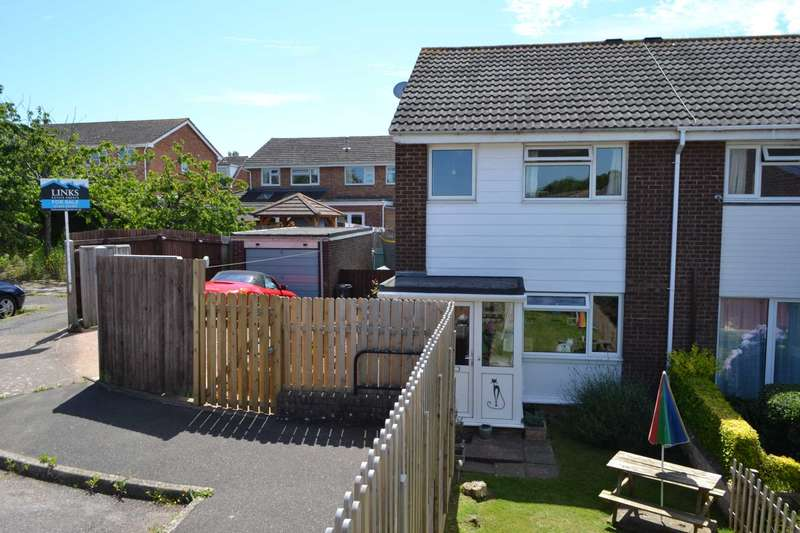 3 Bedrooms Semi Detached House for sale in Vansittart Drive, Exmouth