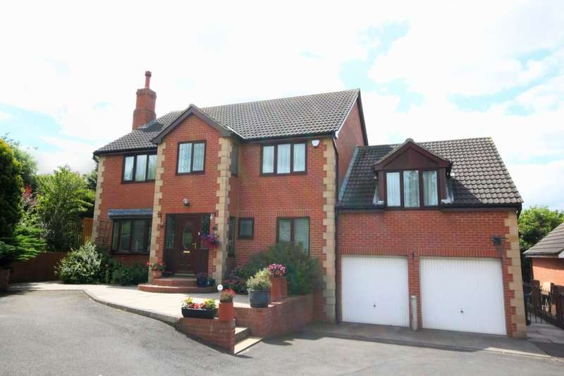 5 Bedrooms Detached House for sale in Callerton View, North Walbottle, Newcastle Upon Tyne, NE5