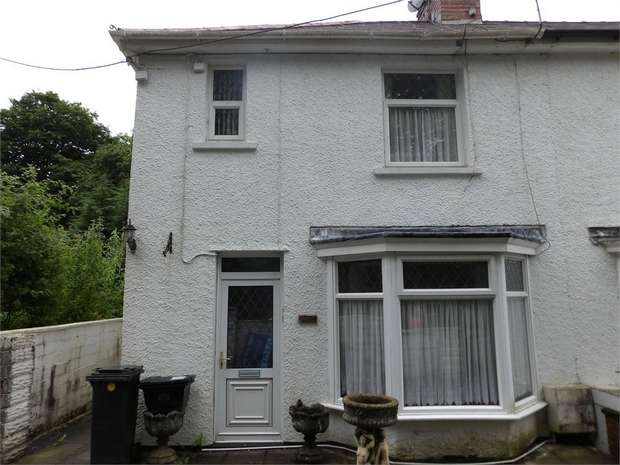 2 Bedrooms Semi Detached House for sale in Nant Y Gleisaid, Resolven, Neath, West Glamorgan