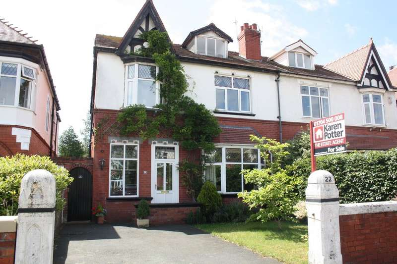 5 Bedrooms Semi Detached House for sale in Melling Road, Southport