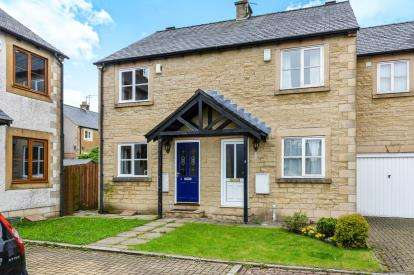 2 Bedrooms Semi Detached House for sale in Mulberry Cottages, Galgate, Lancaster, LA2