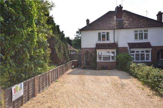 3 Bedrooms Semi Detached House for sale in Frimley Road, Camberley, Surrey