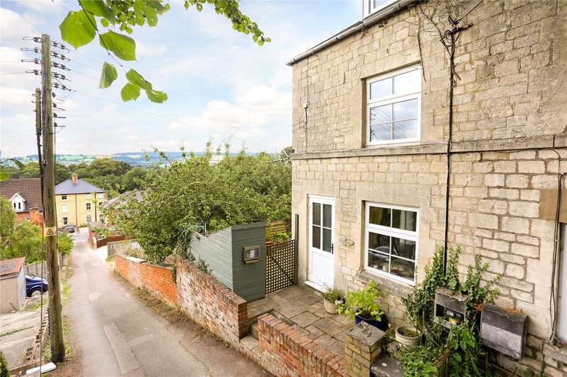 3 Bedrooms Semi Detached House for sale in Park Cottages, Spillmans Pitch, Stroud, Gloucestershire, GL5