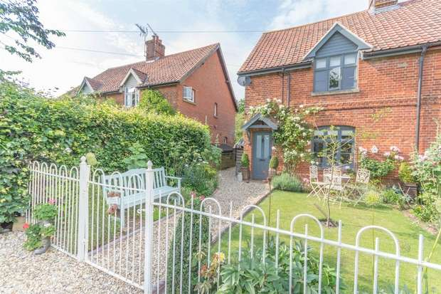 2 Bedrooms Semi Detached House for sale in 2 Hill Farm Cottages, Gateley