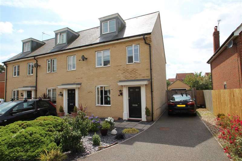 3 Bedrooms Town House for sale in The Combers, Grange Farm, Kesgrave, Ipswich