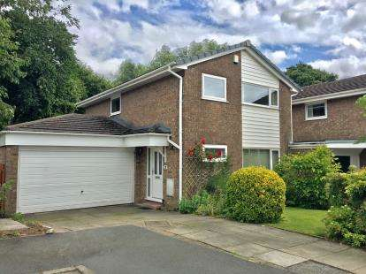 4 Bedrooms Detached House for sale in Kennet Drive, Fulwood, Preston, Lancashire, PR2