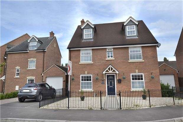 5 Bedrooms Detached House for sale in Goose Bay Drive Kingsway, Quedgeley, GLOUCESTER, GL2 2EW