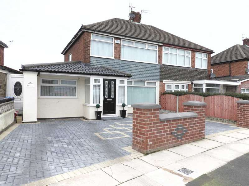3 Bedrooms Semi Detached House for sale in Rowan Drive, Kirkby Row