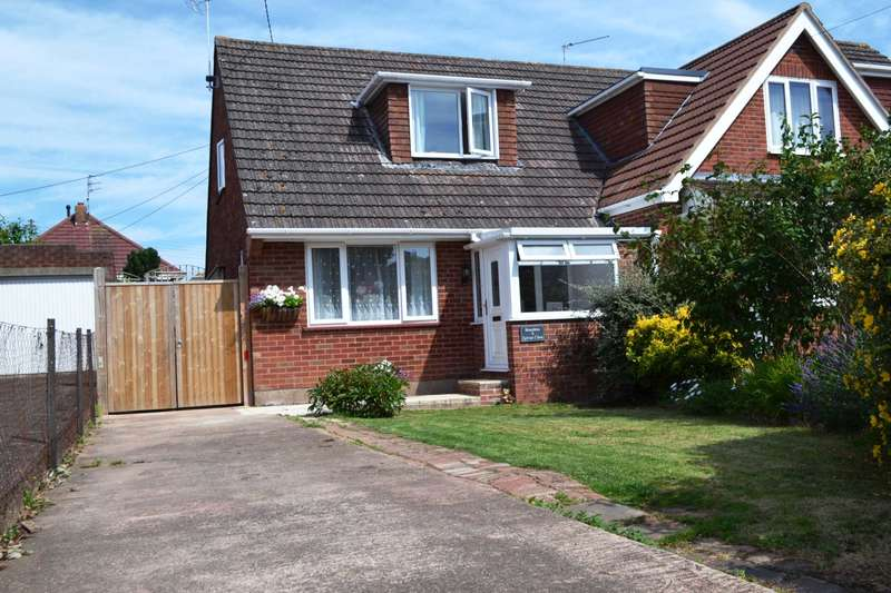 2 Bedrooms Semi Detached House for sale in Sylvan Close, Exmouth