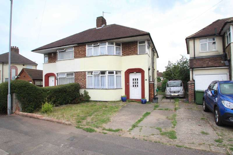 3 Bedrooms Semi Detached House for sale in Felstead way, Bedfordshire, LU2 7FA