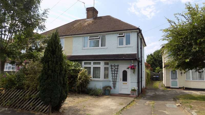 2 Bedrooms Semi Detached House for sale in Shakespeare Road, Addlestone, KT15