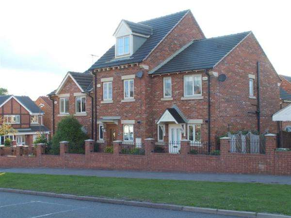 3 Bedrooms Town House for sale in Chesterfield Road, Staveley, Chesterfield