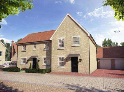 3 Bedrooms Semi Detached House for sale in Penrose Park, Biggleswade, Bedfordshire