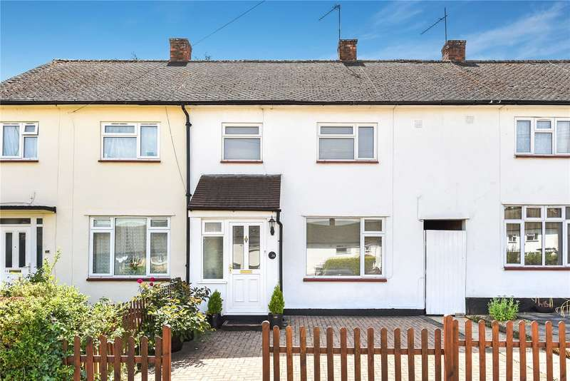 3 Bedrooms Terraced House for sale in Ballater Close, Watford, WD19