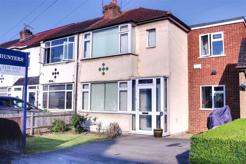 3 Bedrooms End Of Terrace House for sale in Oakleigh Rd, Hillingdon, Middlesex, UB10