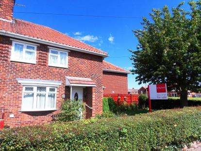 2 Bedrooms Semi Detached House for sale in Bramwith Avenue, Middlesbrough