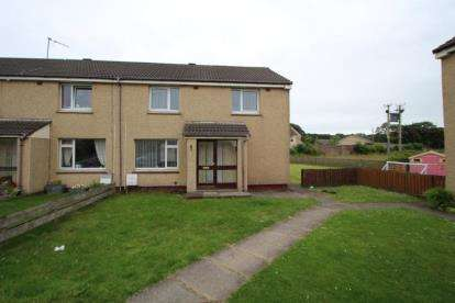 3 Bedrooms End Of Terrace House for sale in Dundonald Crescent, Auchengate, Irvine, North Ayrshire