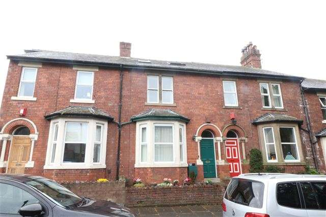 4 Bedrooms Terraced House for sale in Rosebery Road, Carlisle, Cumbria, CA3 9HU