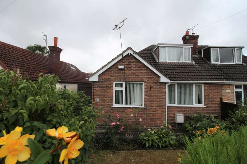 3 Bedrooms Semi Detached Bungalow for sale in Ridgemere Road, Pensby, Wirral, CH61 8RN