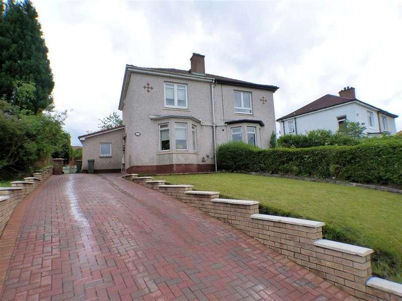 2 Bedrooms Semi Detached House for sale in Edinburgh Road, Carntyne, GLASGOW