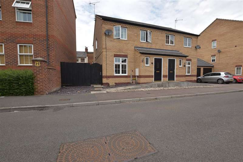 3 Bedrooms Semi Detached House for sale in Bradgate Close, Sileby