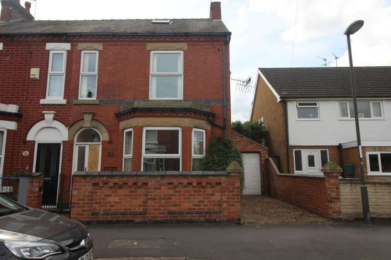 3 Bedrooms Semi Detached House for sale in King Edward Street, Sandiacre, Nottingham, NG10