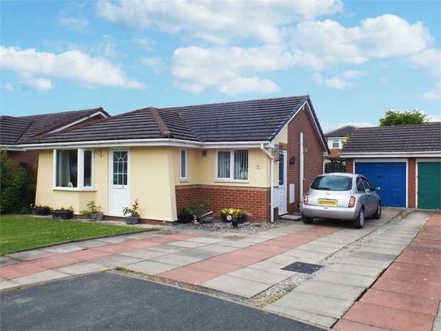 2 Bedrooms Detached Bungalow for sale in Linnet Close, Winsford, Cheshire