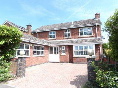4 Bedrooms Detached House for sale in Templecombe Drive, Sharples, Bolton, Greater Manchester, BL1
