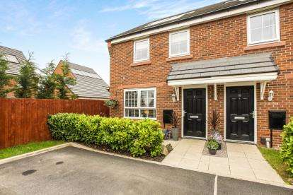 3 Bedrooms End Of Terrace House for sale in Dallington Avenue, Leyland, Lancashire, ., PR25