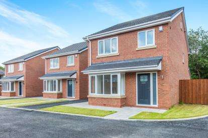4 Bedrooms Detached House for sale in Grosvenor Court, Newton Le Willows, St Helens