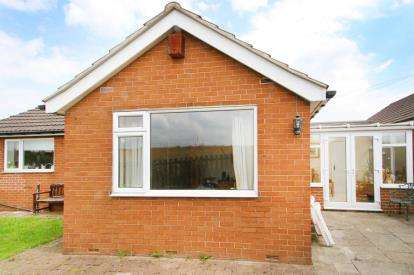 2 Bedrooms Bungalow for sale in Howard Drive, Old Whittington, Chesterfield, Derbyshire