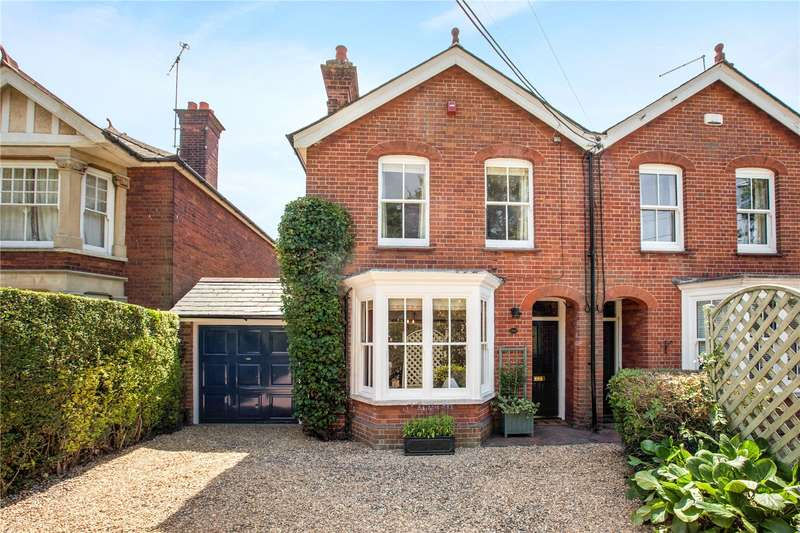 3 Bedrooms Semi Detached House for sale in Little Marlow Road, Marlow, Buckinghamshire, SL7