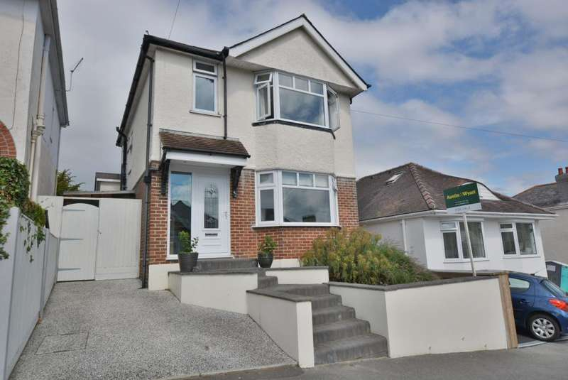 3 Bedrooms Detached House for sale in Whitefield Rd, Whitecliff, Poole, BH14 8DD