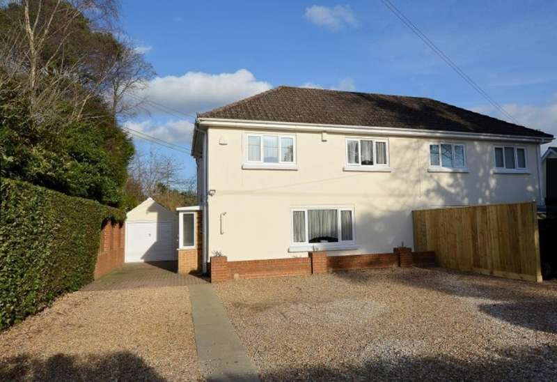 4 Bedrooms Semi Detached House for sale in FERNDOWN