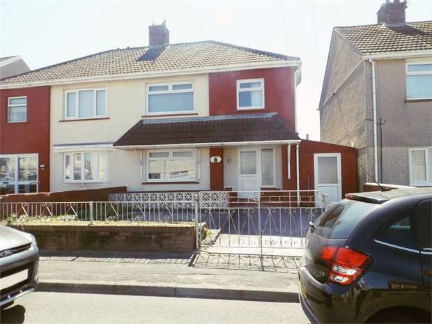3 Bedrooms Semi Detached House for sale in Strauss Road, Sandfields, Port Talbot, West Glamorgan