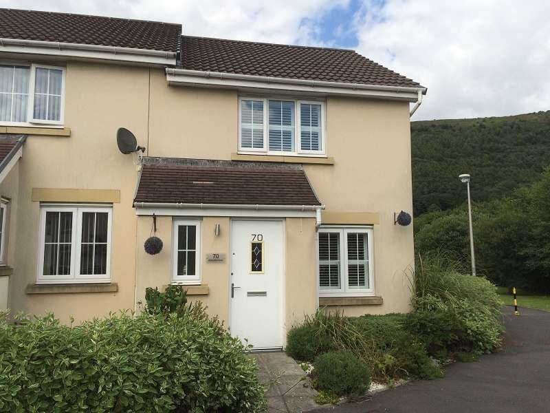 2 Bedrooms End Of Terrace House for sale in Abbottsmoor , Baglan Moors, Port Talbot, Neath Port Talbot. SA12 6DT