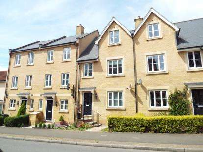 3 Bedrooms Terraced House for sale in Eastbury Way, Redhouse, Swindon, Wiltshire
