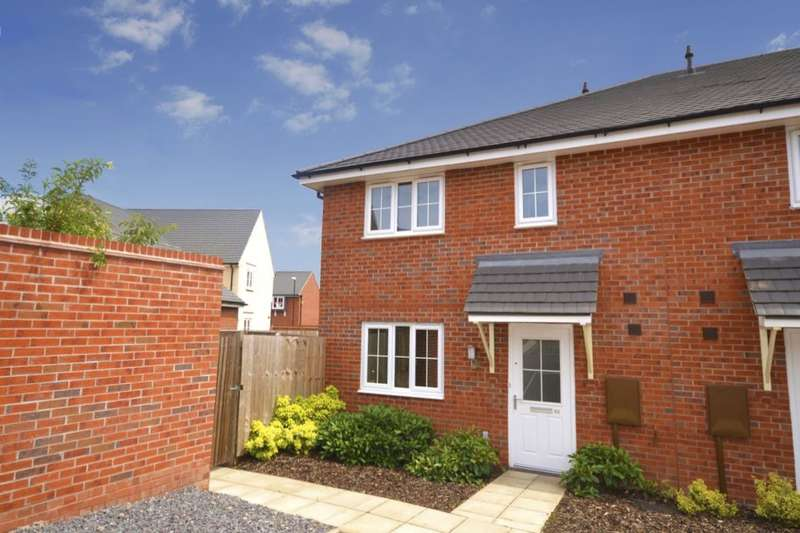 2 Bedrooms Property for sale in Suffolk Way, Church Gresley, Swadlincote, DE11