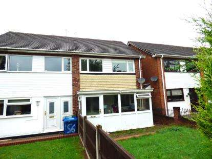 3 Bedrooms Semi Detached House for sale in Freville Close, The Leys, Tamworth, Staffordshire