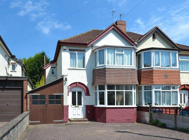 3 Bedrooms Semi Detached House for sale in Chelston Road, Northfield, Birmingham