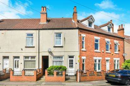 2 Bedrooms End Of Terrace House for sale in Bowling Street, Mansfield, Nottinghamshire