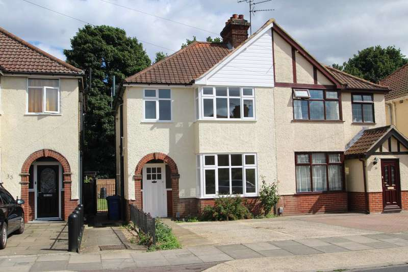 3 Bedrooms Semi Detached House for sale in Eutace Road, Ipswich, IP1 5BT