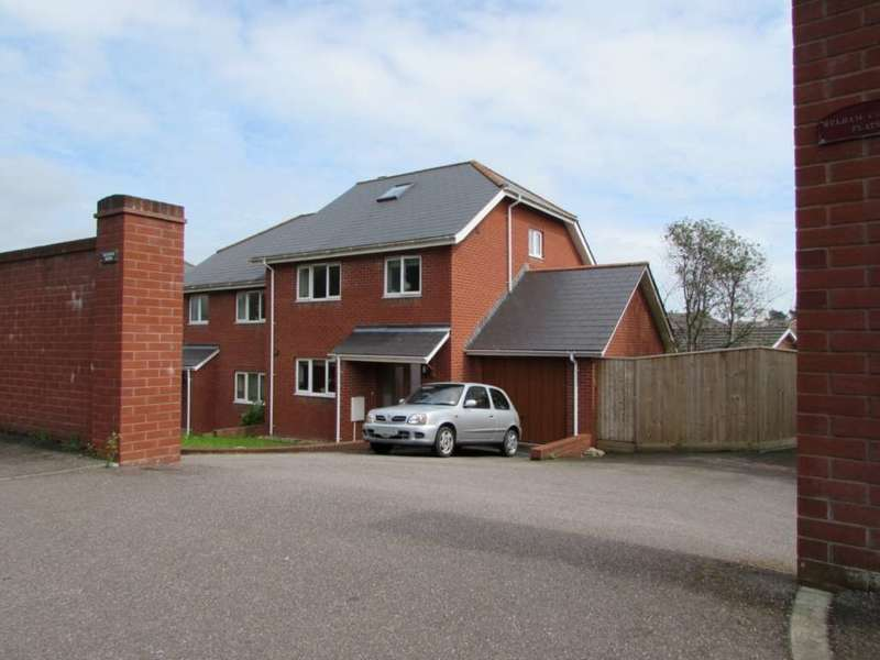 4 Bedrooms Semi Detached House for sale in Hulham Mews, Exmouth