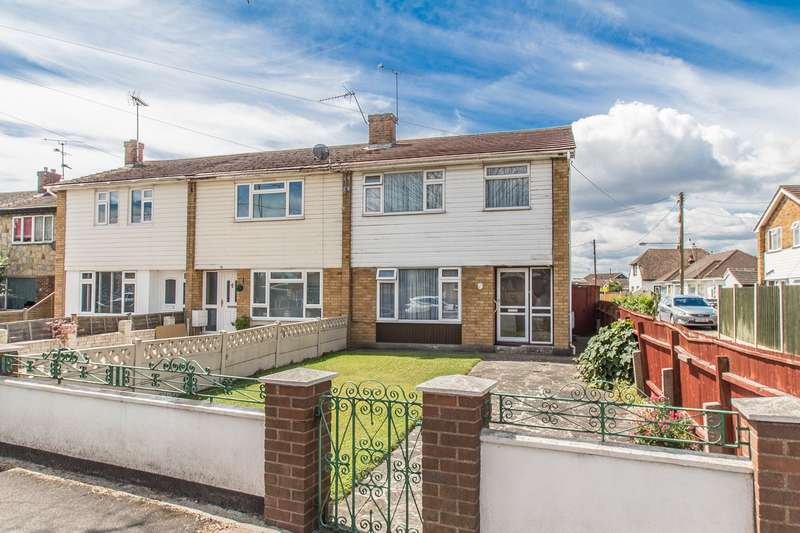 3 Bedrooms End Of Terrace House for sale in Dovervelt Road, Canvey Island, SS8