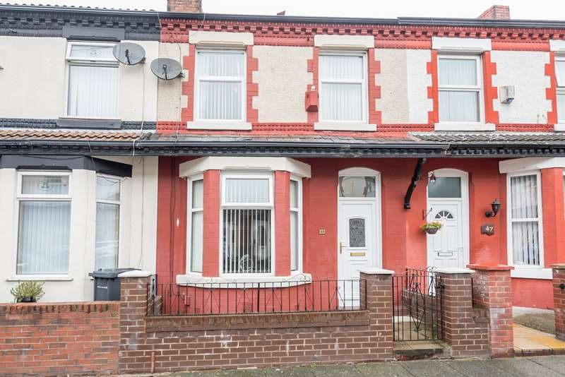 3 Bedrooms Terraced House for sale in towcester st, litherland, Merseyside, L21