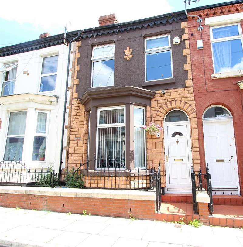 2 Bedrooms Terraced House for sale in Bradfield Street, Fairfield, Liverpool
